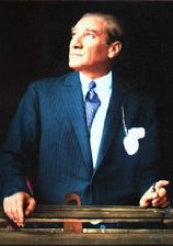 MUSTAFA KEMAL ATATÜRK, FOUNDER OF MODERN TURKEY