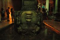 MEDUSA HEAD YEREBATAN ISTANBUL, PHOTO J.SYNDERS