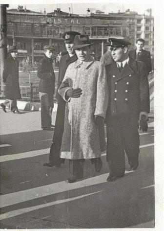 HAMZA OZMERAL CIVILIAN CLOTH BERLIN 1937