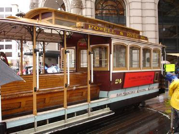 LOMBART STREET CABLE CAR, SAN FRANSISCO