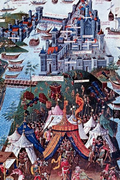Siege of Constantinople, Voyage d'Outremer of Bertrandon de la Brocquire