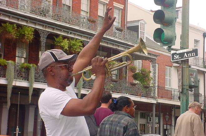 MUSICIAN,  NEW ORLEANS